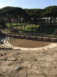 Day 8: The amphitheater at the ancient city of Ostia Antica