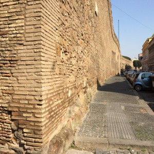 Day 9: The wall around Vatican City