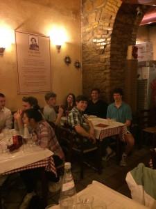 Day8: Enjoying the best pizza in Italy at Dar Poeta in Trastevere