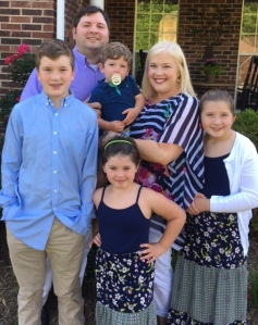Amanda Sparks joins us with her husband Jonathan and four children:  Harris (rising 8th), Lily (rising 5th), Wren (rising 2nd), Sullivan (2 yrs old).
